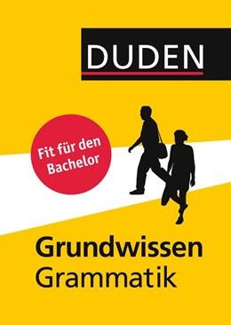 Abbildung von Diewald / Habermann / Thurmair   Duden - Grundwissen Grammatik   2., überarbeitete Auflage   2015