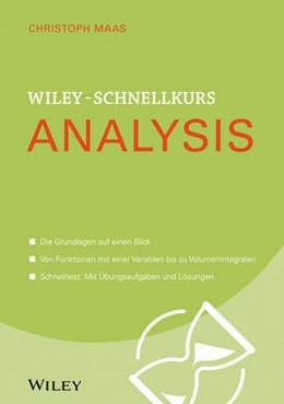 Abbildung von Maas | Wiley-Schnellkurs Analysis | 1. Auflage | 2015 | beck-shop.de