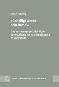 'Geheiligt werde dein Name'   Juschka, 2015   Buch (Cover)