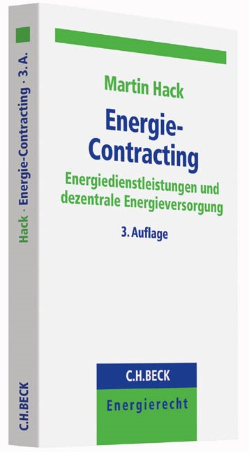 Energie-Contracting | Hack | 3. Auflage, 2015 | Buch (Cover)