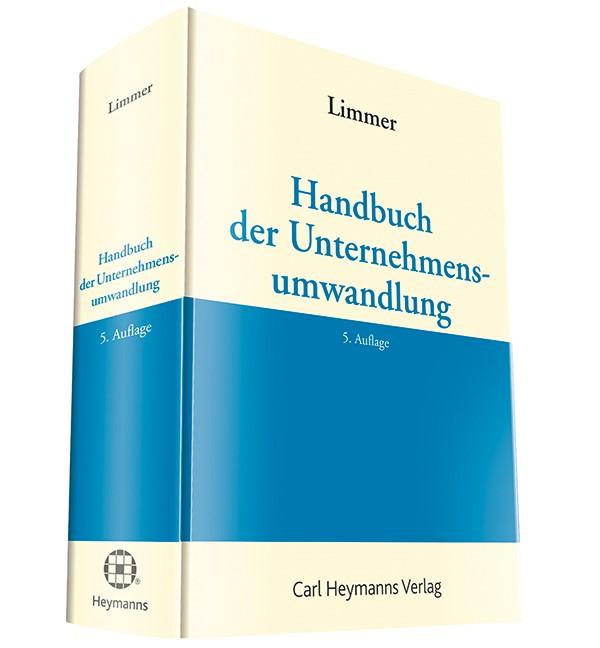 Handbuch der Unternehmensumwandlung | Limmer (Hrsg.) | 5. Auflage, 2015 | Buch (Cover)