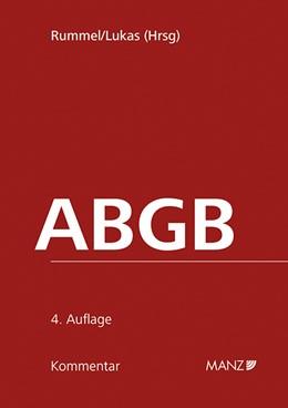 Abbildung von Rummel / Lukas | ABGB Kommentar zum Allgemeinen bürgerlichen Gesetzbuch | 4. Auflage | 2015 | beck-shop.de