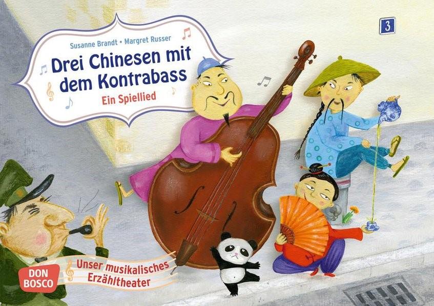 Drei Chinesen mit dem Kontrabass. Ein Spiellied | Brandt, 2015 (Cover)