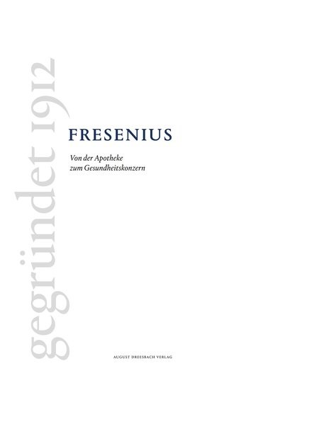 Fresenius | Kamp / Neumann, 2015 | Buch (Cover)
