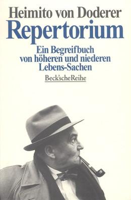 Abbildung von Doderer, Heimito von | Repertorium | 2. Auflage | 1996 | 1158 | beck-shop.de