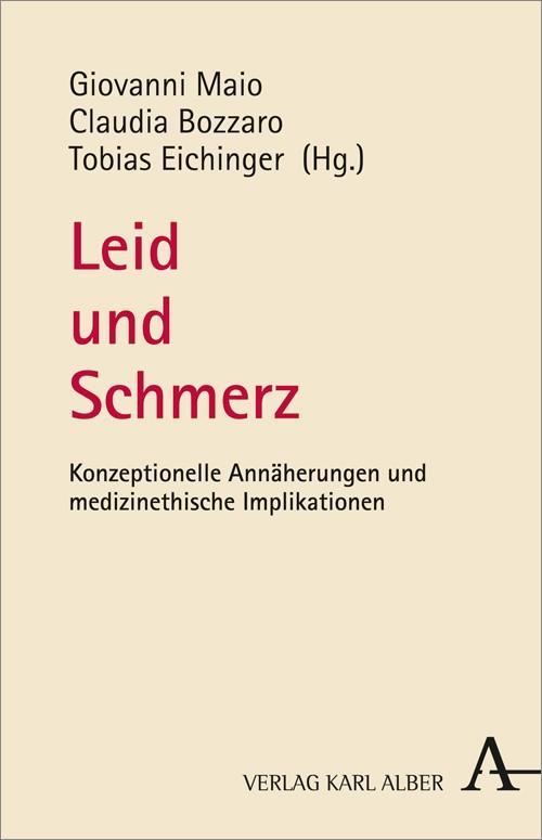 Leid und Schmerz | Bozzaro / Eichinger / Maio, 2015 | Buch (Cover)