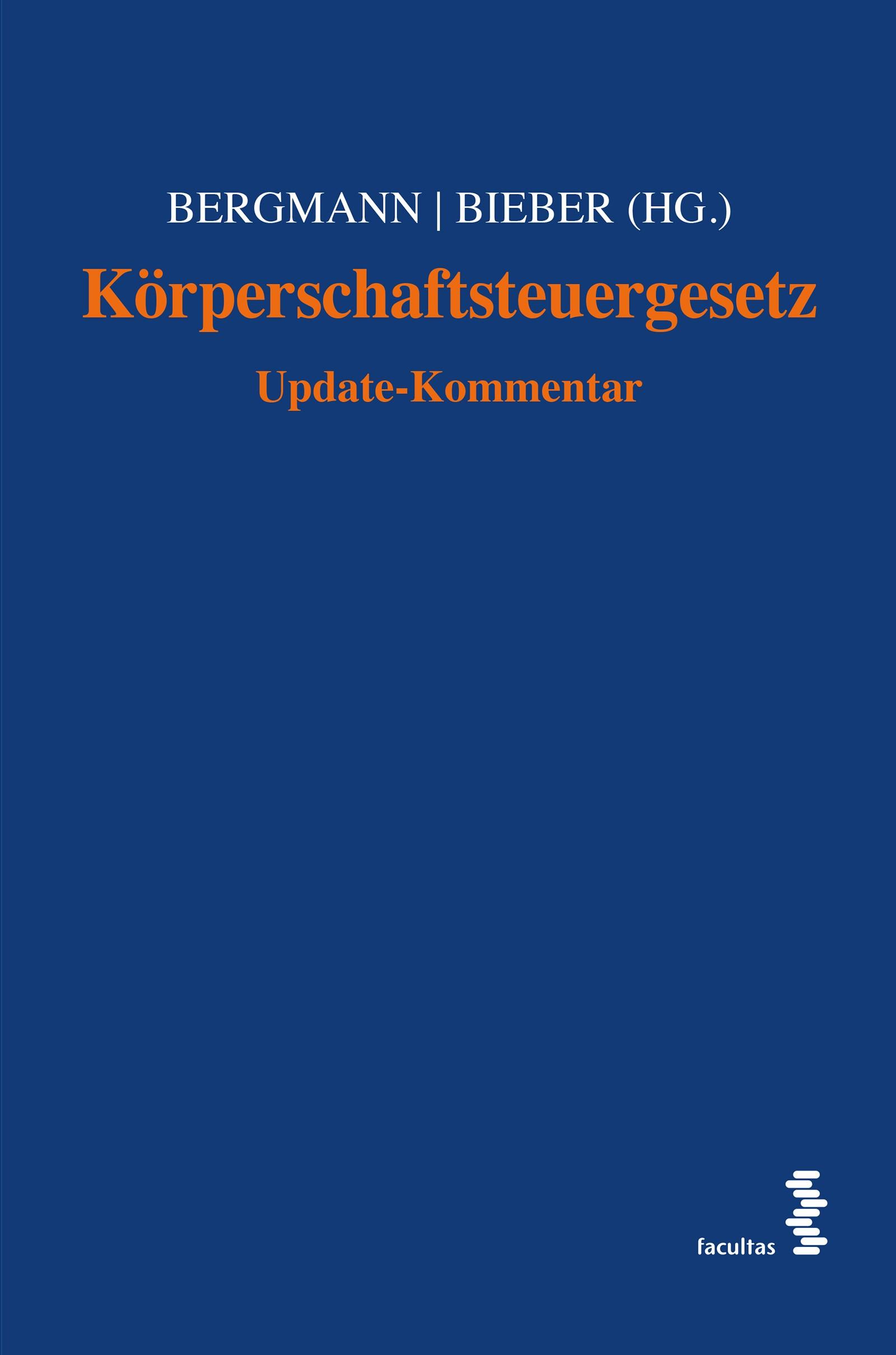 Körperschaftsteuergesetz | Bergmann / Bieber (Hrsg.), 2015 | Buch (Cover)