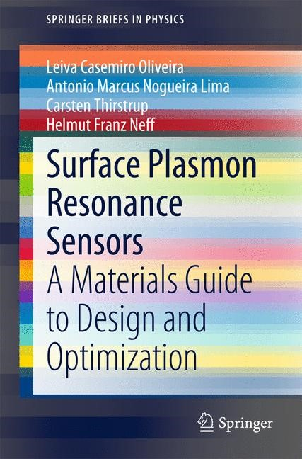 Surface Plasmon Resonance Sensors | Oliveira / Lima / Thirstrup | 2015, 2015 | Buch (Cover)