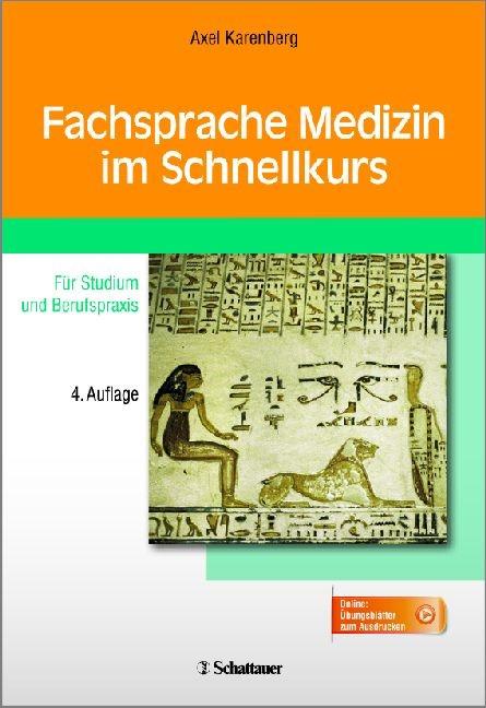 Fachsprache Medizin im Schnellkurs | Karenberg | 4. überarbeite Auflage, 2015 | Buch (Cover)
