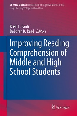 Abbildung von Santi / Reed | Improving Reading Comprehension of Middle and High School Students | 2015 | 2015 | 10