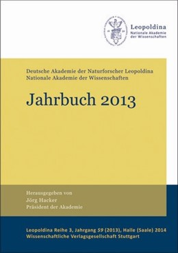Abbildung von Hacker / Deutsche Akademie der Naturforscher | Jahrbuch 2013 | 1. Auflage | 2014 | 59 | beck-shop.de