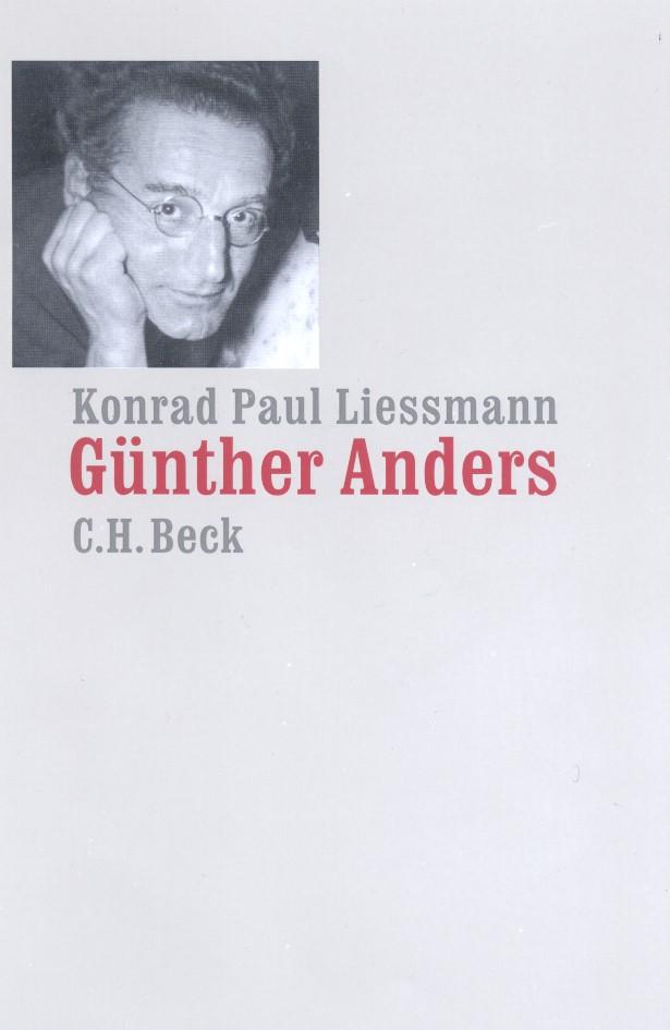 Günther Anders | Liessmann, Konrad Paul | Buch (Cover)