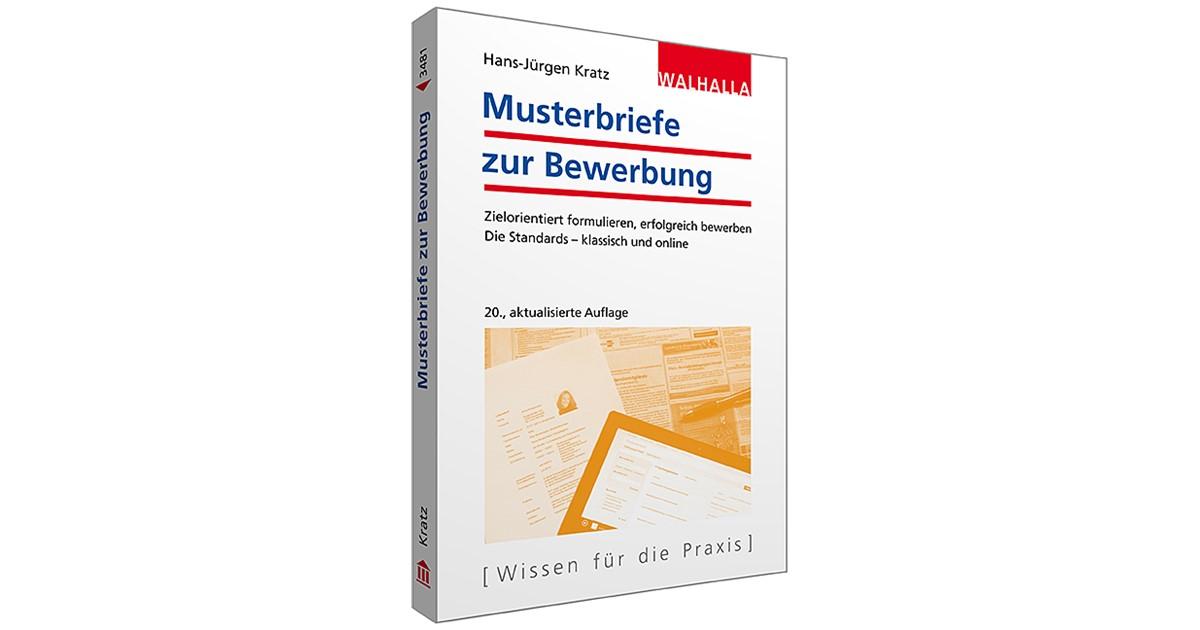 Musterbriefe Zur Bewerbung Kratz 20 Aktualisierte Auflage