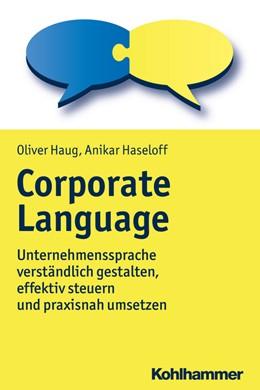 Abbildung von Haug / Haseloff   Corporate Language   1. Auflage   2018   beck-shop.de