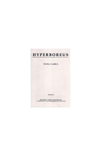 Cover: , Hyperboreus Vol. 19 Jg. 2013 Heft 1-2