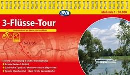 Abbildung von 3-Flüsse-Tour Radrundtour an Rhein, Ahr und Erft 1 : 50 000 Radwanderkarte | 2. Auflage | 2015 | Kompakt-Spiralo