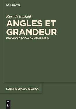 Abbildung von Rashed   Angles et Grandeur   1. Auflage   2015   17   beck-shop.de