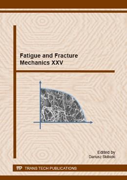 Abbildung von Skibicki | Fatigue and Fracture Mechanics XXV | 1. Auflage | 2015 | Volume 224 | beck-shop.de