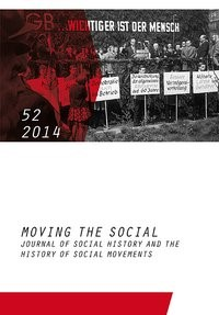 Moving the Social 52/2014, 2015 | Buch (Cover)