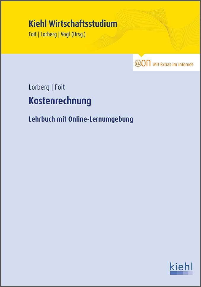 Kostenrechnung | Foit / Lorberg, 2015 (Cover)