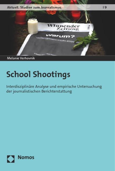 School Shootings | Verhovnik, 2015 | Buch (Cover)