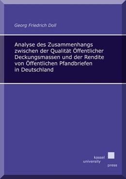Abbildung von Doll   Analyse des Zusammenhangs zwischen der Qualität Öffentlicher Deckungsmassen und der Rendite von Öffentlichen Pfandbriefen in Deutschland   2014