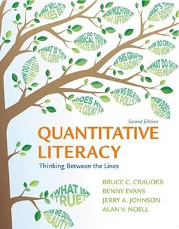 Abbildung von Crauder / Evans   Quantitative Literacy   2. Auflage   2020   beck-shop.de
