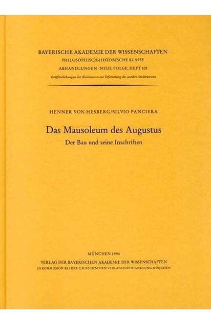 Cover: , Das Mausoleum des Augustus