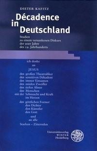 Décadence in Deutschland | Kafitz, 2004 | Buch (Cover)