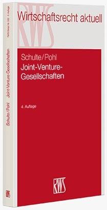 Joint-Venture-Gesellschaften | Schulte / Pohl | 4., neu bearbeitete Auflage, 2015 | Buch (Cover)