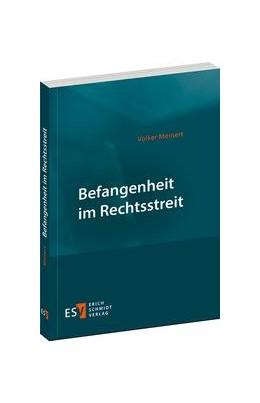 Abbildung von Meinert | Befangenheit im Rechtsstreit | 2015