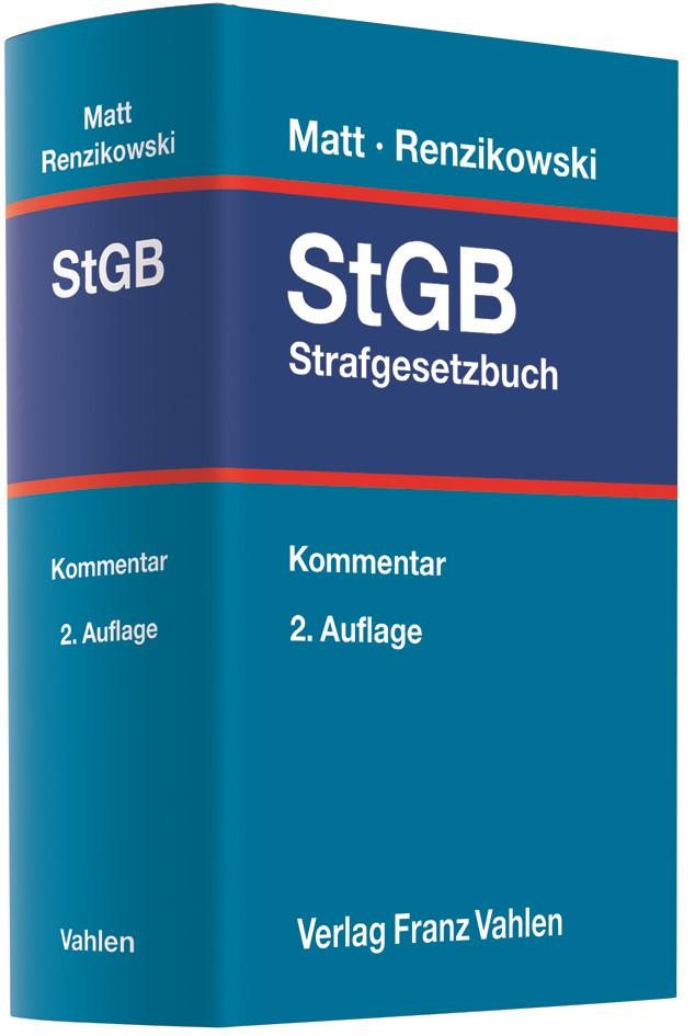 Strafgesetzbuch: StGB | Matt / Renzikowski | 2. Auflage, 2018 | Buch (Cover)