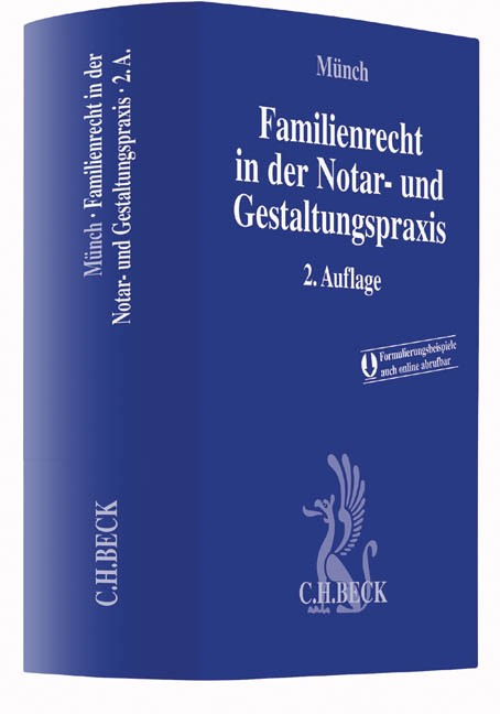 Familienrecht in der Notar- und Gestaltungspraxis | Münch | Buch (Cover)