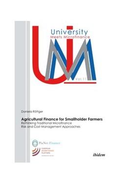 Abbildung von Röttger | Agricultural Finance for Smallholder Farmers | 1. Auflage | 2015 | 11 | beck-shop.de