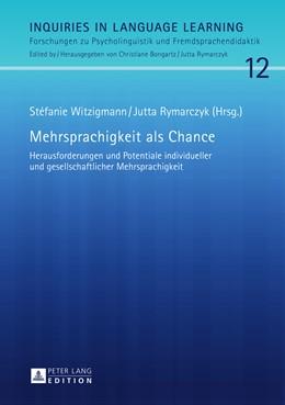 Abbildung von Rymarczyk / Witzigmann | Mehrsprachigkeit als Chance | 1. Auflage | 2015 | 12 | beck-shop.de