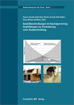Abbildung von Oswald / Abel | Bauteilbeschreibungen im Bauträgervertrag | 1. Auflage | 2015 | 110 | beck-shop.de