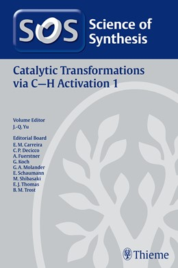 Abbildung von Yu | Catalytic Transformations via C-H Activation Vol. 1 | 2015 | (C-C, C-N, C-O, C-Hal, and C-B...