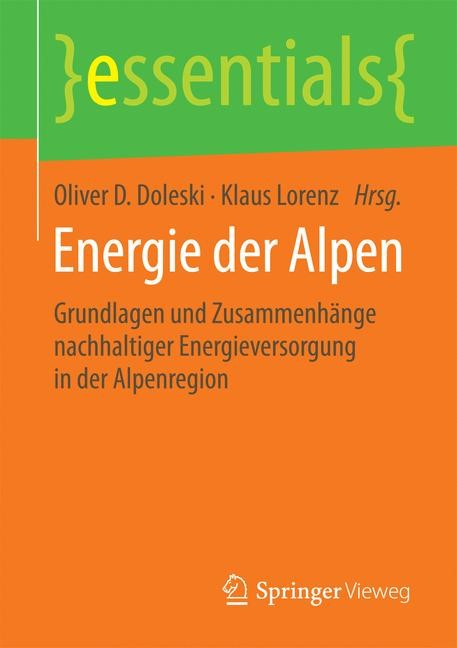 Abbildung von Doleski / Lorenz | Energie der Alpen | 2015 | 2015
