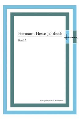 Abbildung von Ponzi   Hermann-Hesse-Jahrbuch, Band 7   2015