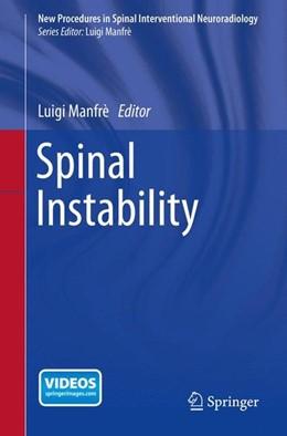 Abbildung von Manfrè | Spinal Instability | 2015 | 2015