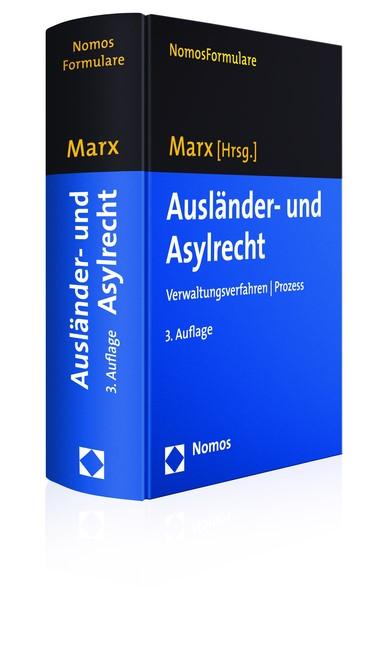 Ausländer- und Asylrecht   Marx (Hrsg.)   3. Auflage, 2016 (Cover)