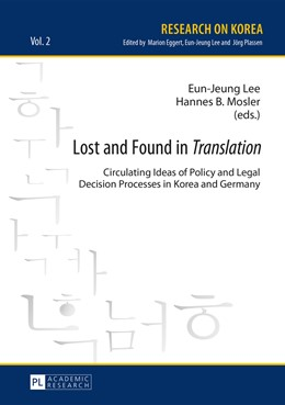 Abbildung von Mosler / Lee | Lost and Found in «Translation» | 2015 | Circulating Ideas of Policy an... | 2