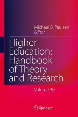 Abbildung von Paulsen   Higher Education: Handbook of Theory and Research   2015   2015   Volume 30
