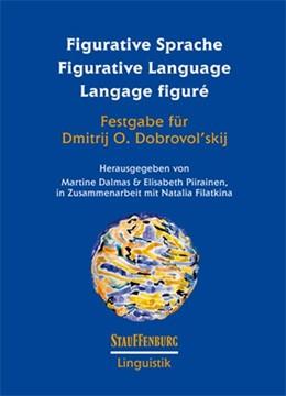 Abbildung von Dalmas / Piirainen   Figurative Sprache Figurative Language Langage figuré   1. Auflage   2015   beck-shop.de