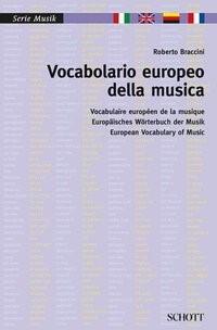 Vocabolario europeo della musica | Braccini, 2014 | Buch (Cover)