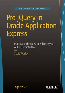 Abbildung von Wesley | Pro jQuery in Oracle Application Express | 1st ed. | 2015