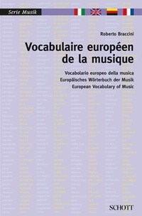 Vocabulaire européen de la musique | Braccini, 2014 | Buch (Cover)