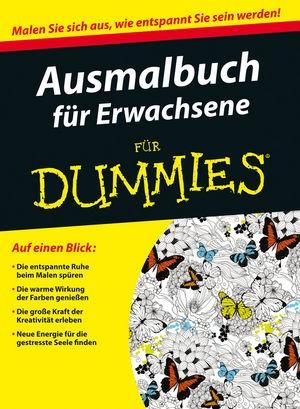 Ausmalbuch für Erwachsene für Dummies, 2015   Buch (Cover)