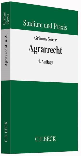 Agrarrecht | Grimm / Norer | 4. Auflage, 2015 | Buch (Cover)