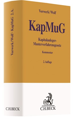Abbildung von Vorwerk / Wolf   Kapitalanleger-Musterverfahrensgesetz (KapMuG)   2. Auflage   2020